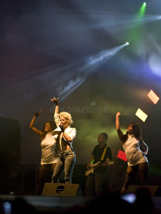 Le concert de septembre images libres de droits
