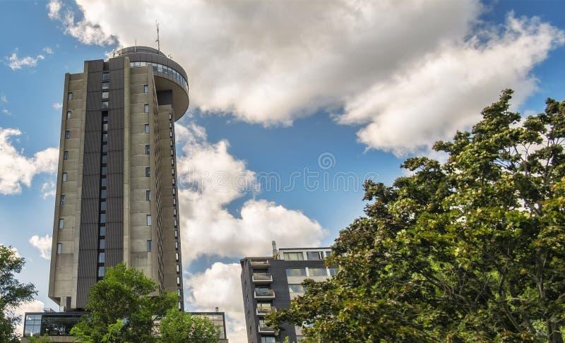 Le Concorde Hotel Quebec City photographie stock libre de droits