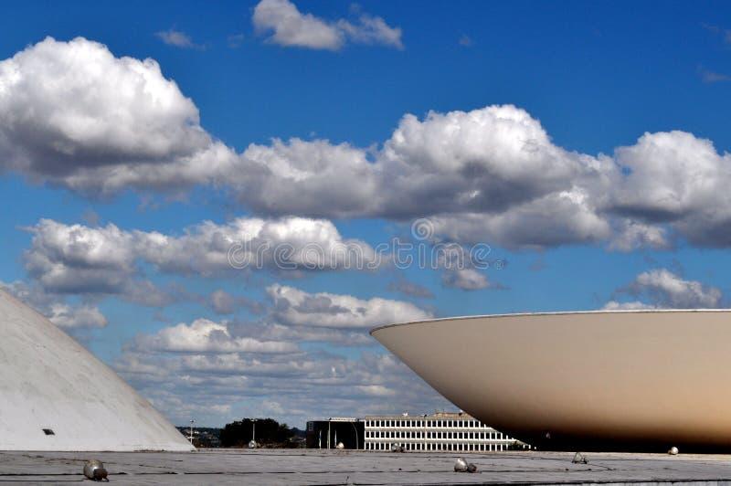 Le congrès brésilien images libres de droits