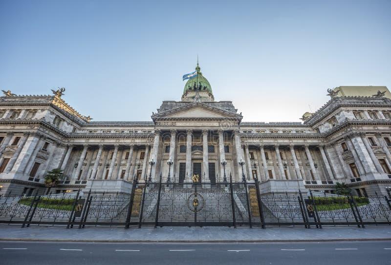 Le congrès de la nation argentine. photos stock