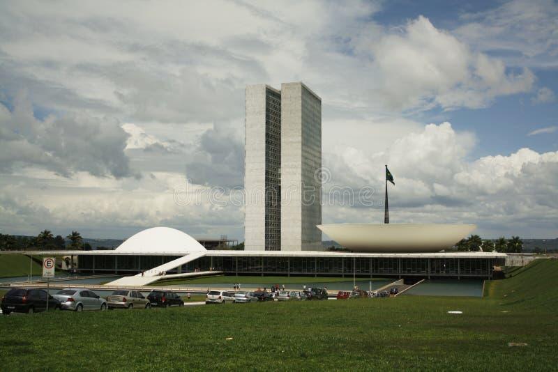Le congrès national brésilien photos libres de droits