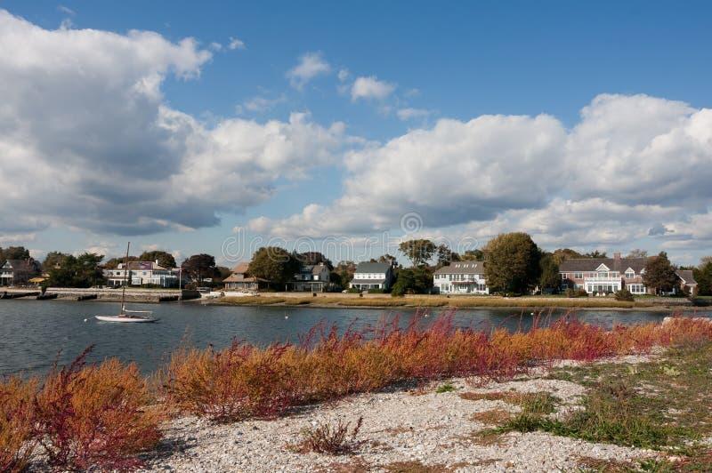 Le Connecticut côtier photos stock