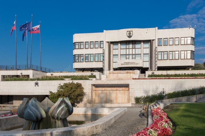 Le Conseil National de la République slovaque photo libre de droits