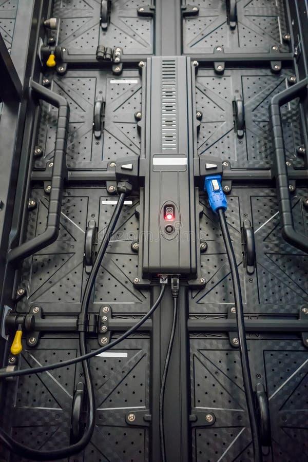 Le contrôleur d'écran de LED pour la machine industrielle photos libres de droits