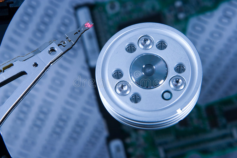 Le contrôleur de disques images stock