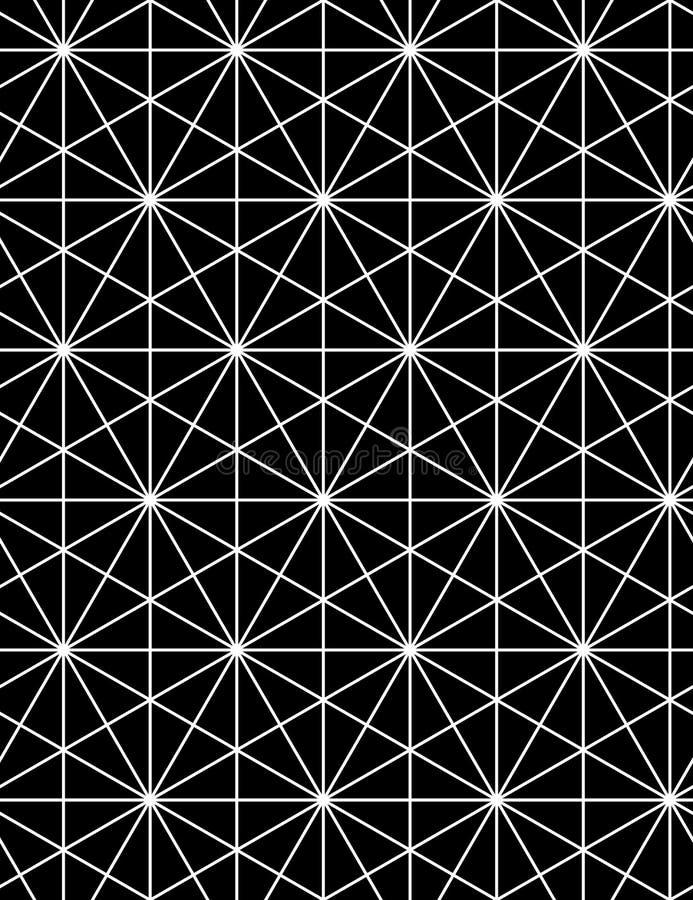 Le contraste régulier a donné au modèle une consistance rugueuse sans fin avec des cubes, continus illustration stock