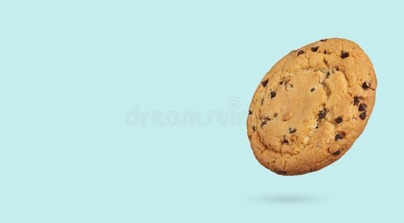 Le cookie à puce à chocolat isolé photos libres de droits