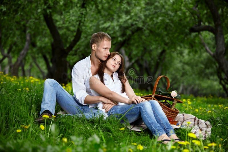 Le coppie enamoured fotografia stock libera da diritti