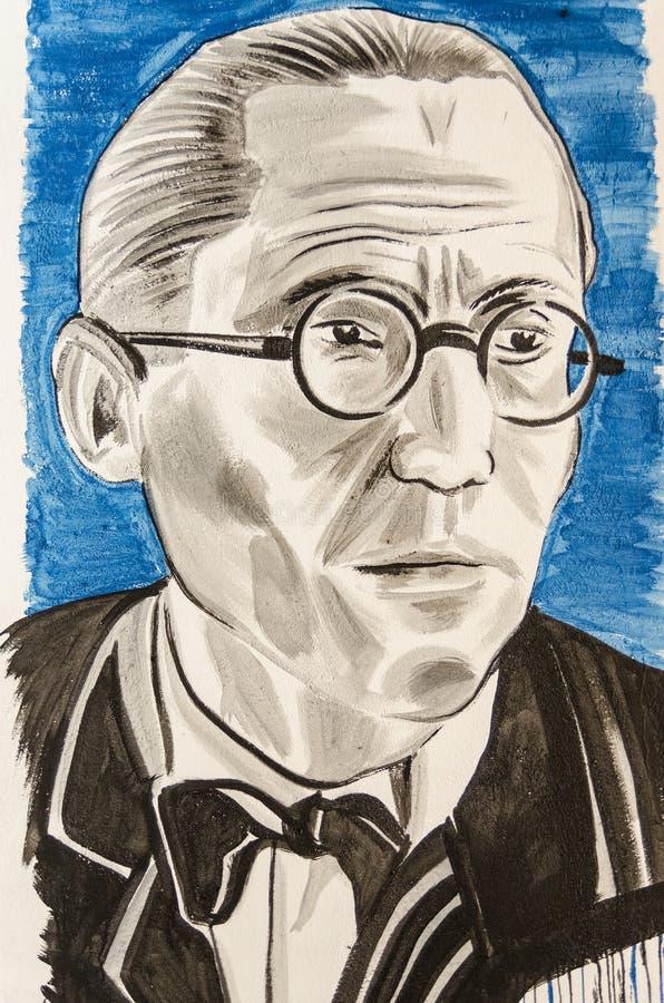 Le Corbusier fotografering för bildbyråer