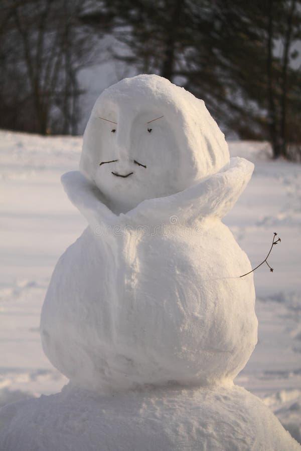 Le corps du bonhomme de neige photos stock