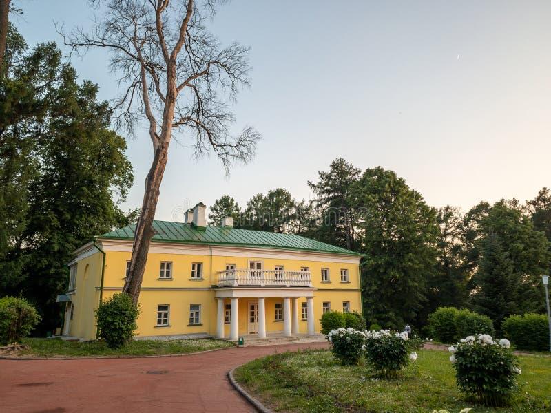 Le costruzioni principali della proprietà Precedente residenza di Vladimir Ilyich Lenin immagine stock