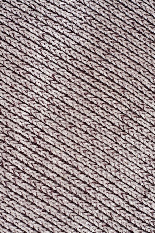 Le coton diagonal a donné une consistance rugueuse images libres de droits