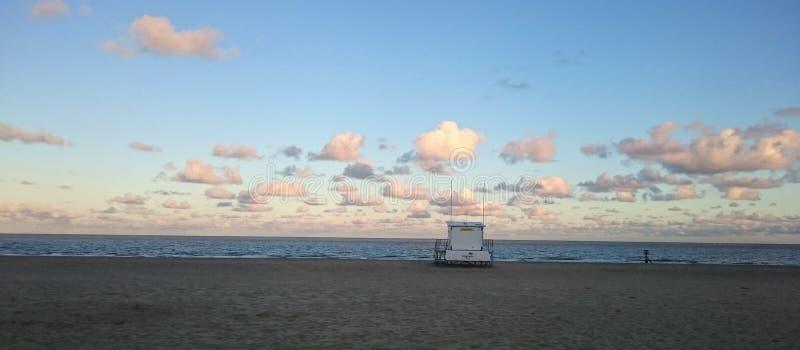Le coucher du soleil opacifie Lowestoft, Suffolk photos libres de droits