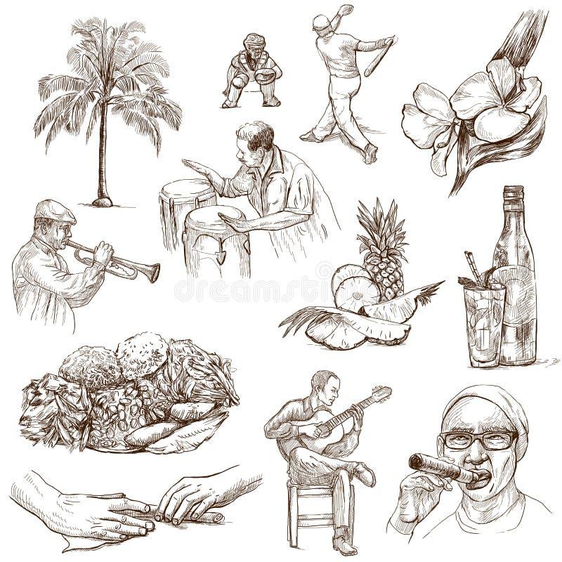Le Cuba 2 illustration de vecteur
