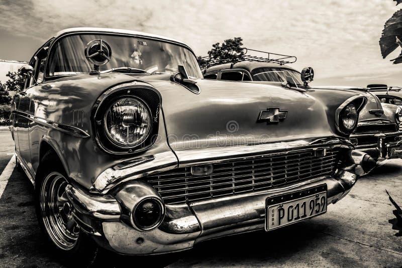 Le Cuba - Chevrolet classique photographie stock libre de droits