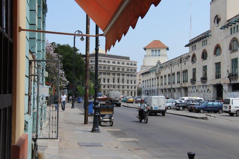 Le Cuba, Habana, centre, terminal marin images libres de droits