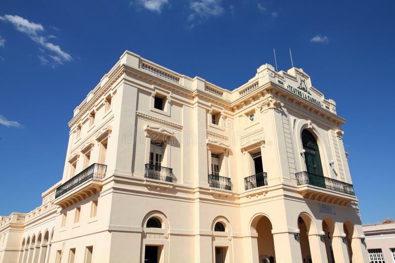 Le Cuba - le Santa Clara images libres de droits
