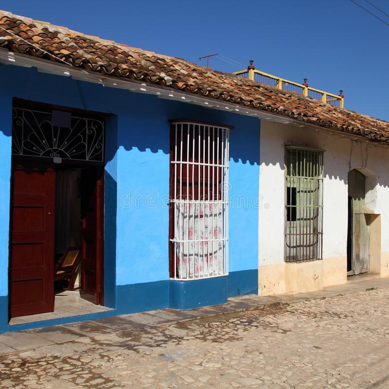 Le Cuba - le Trinidad photo libre de droits