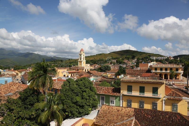 Le Cuba, Trinidad photo libre de droits