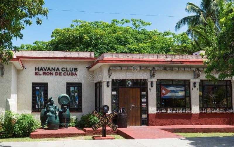 Le Cuba Varadero Havana Club Rum Museum images libres de droits
