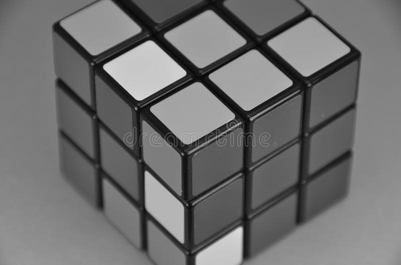 Le cube de Rubik photo stock
