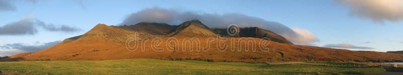 Le Cuillin de la gorge cassante, île de Skye photo libre de droits