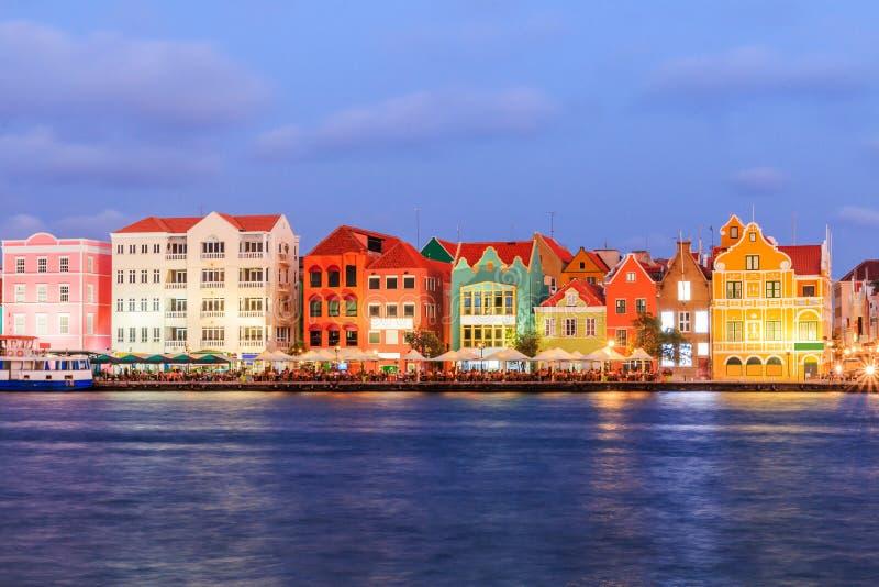 Le Curaçao, Antilles néerlandaises photo stock