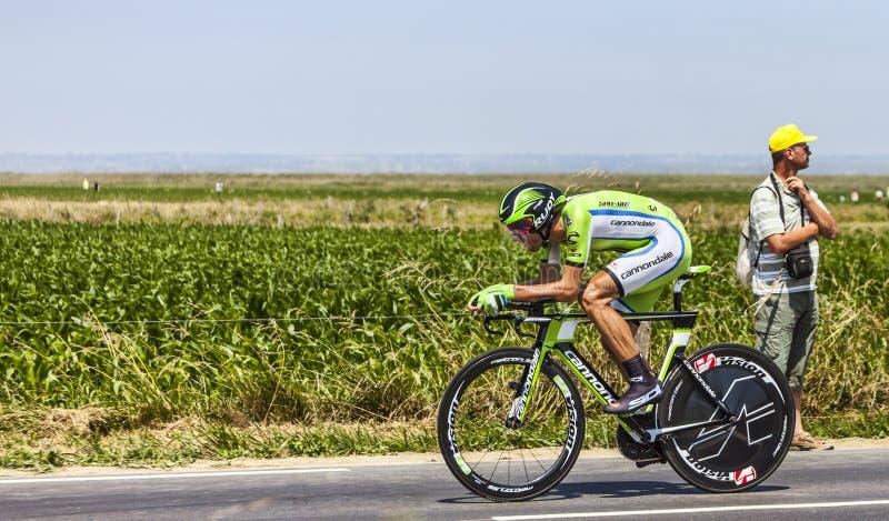 Le Cycliste Kristijan Koren Photographie éditorial