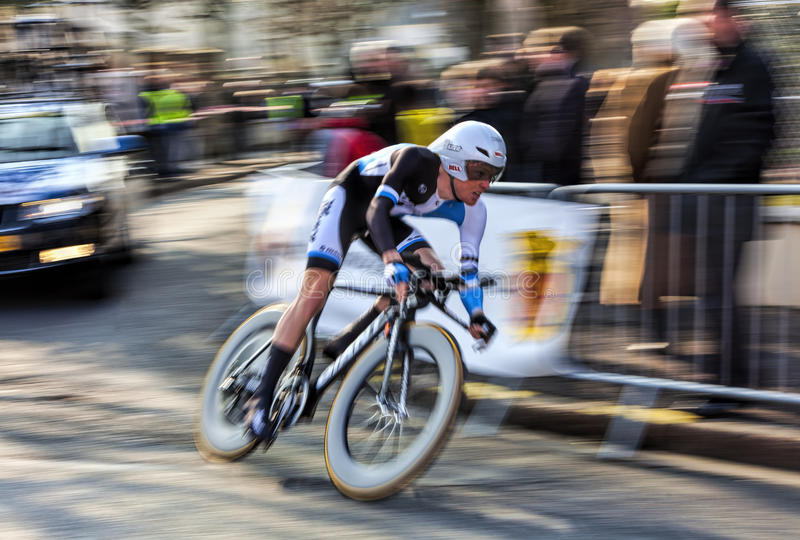 Le Cycliste Kruijswijk Steven Paris Nice 2013 Pro Photographie éditorial