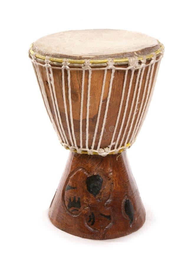 le découpage africain bat du tambour au sud photos stock