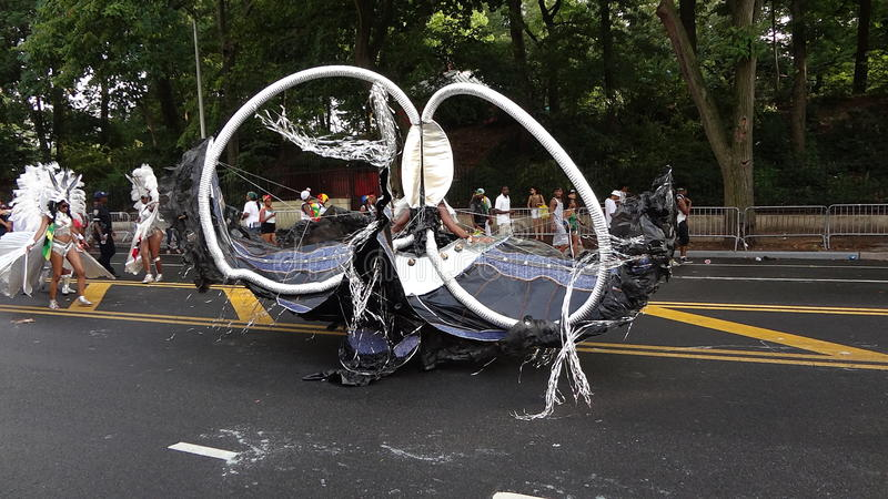Le défilé 2013 indien occidental (de Fête du travail) 19 images libres de droits