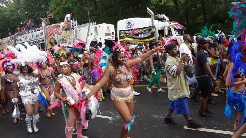 Le défilé 2013 indien occidental (de Fête du travail) 54 images libres de droits