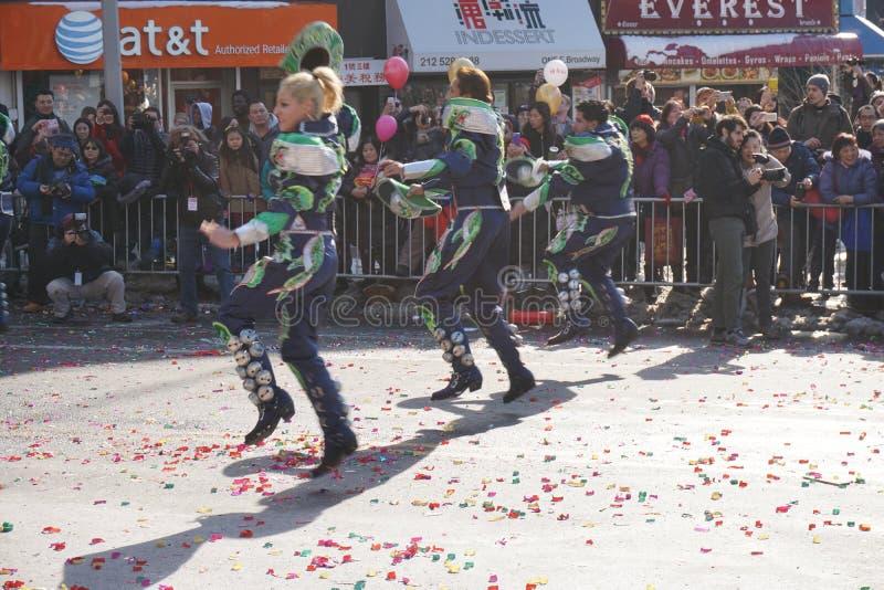 Le défilé lunaire chinois 153 de la nouvelle année 2015 images stock