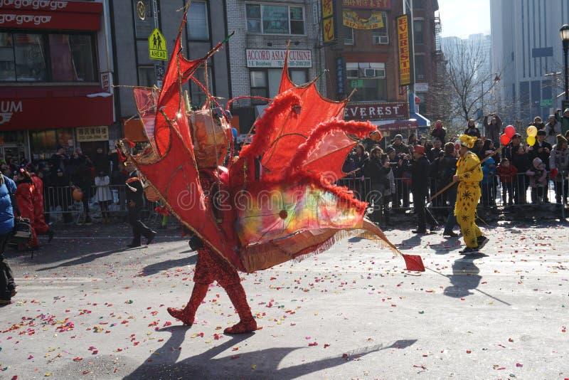 Le défilé lunaire chinois 172 de la nouvelle année 2015 image stock