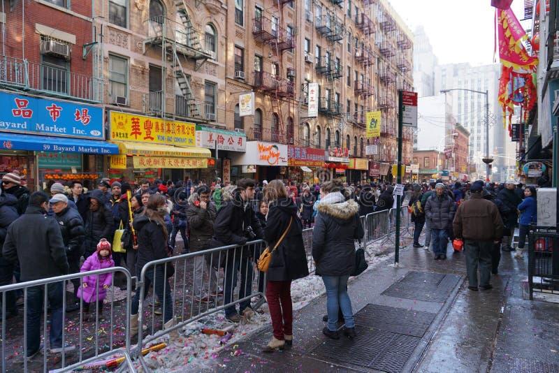 Le défilé lunaire chinois 174 de la nouvelle année 2015 images stock