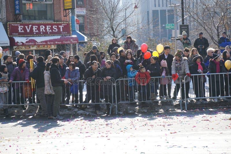 Le défilé lunaire chinois 203 de la nouvelle année 2015 images libres de droits