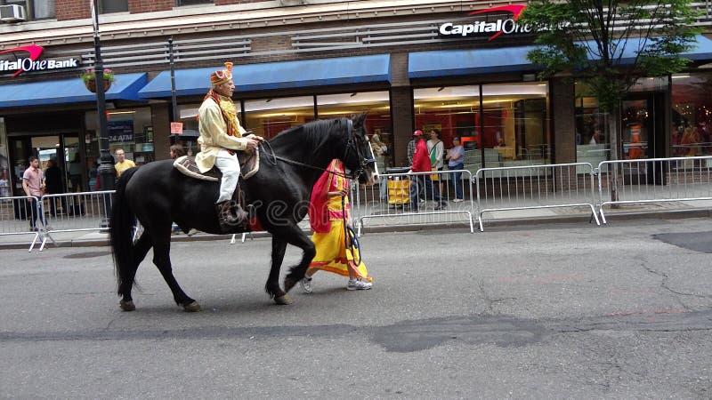 Le défilé New York 1 de 2013 danses photos libres de droits