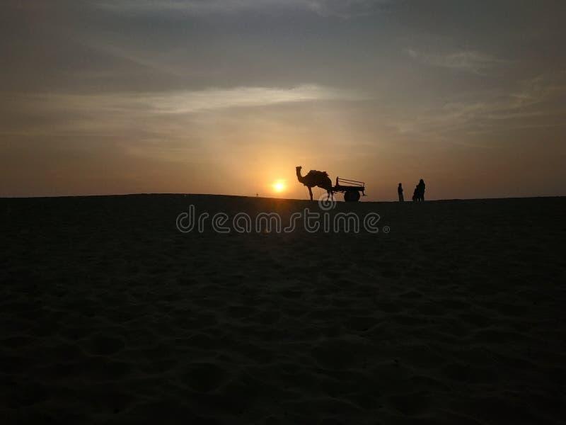 Le désert de Thar photos stock