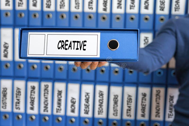 Le développement créatif d'innovation d'idées de créativité inspirent le concept photographie stock libre de droits