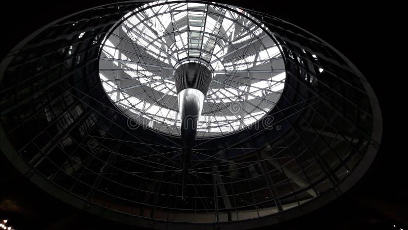 Le dôme de Berlin images libres de droits