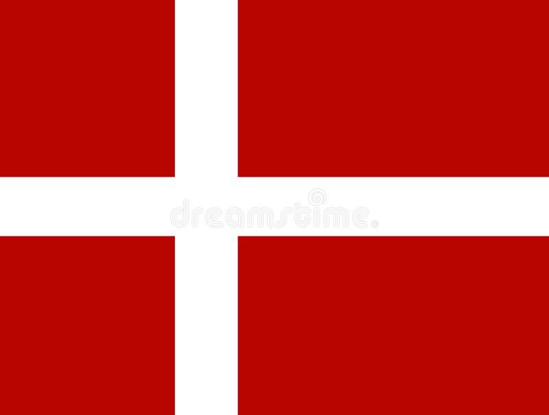 Le Danemark illustration stock