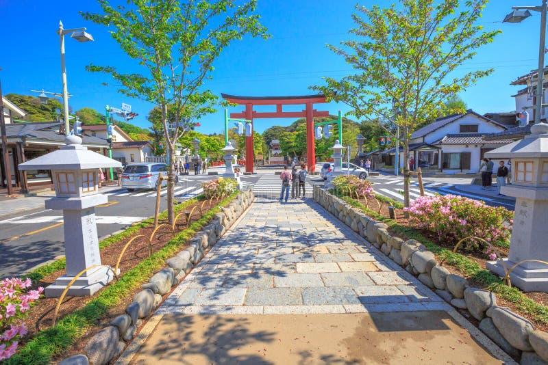 Le Dankazura à Kamakura image libre de droits