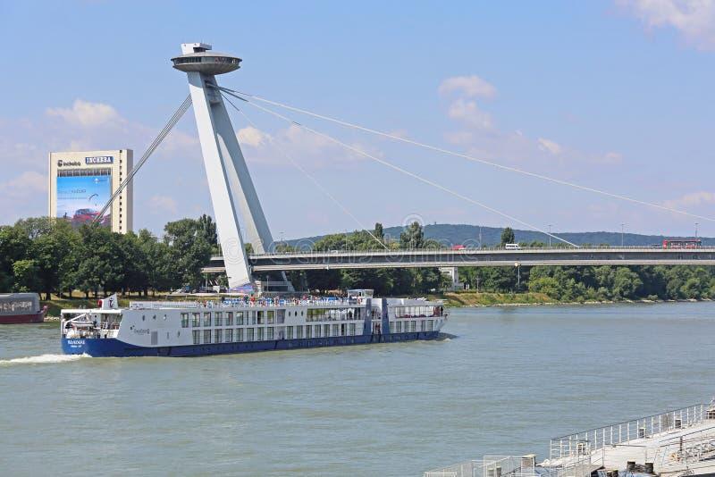 Le Danube Bratislava photographie stock