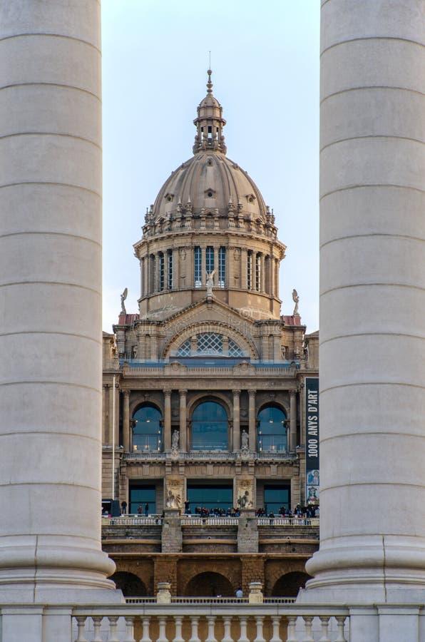 Le dard de Catalunya de Museu Nacional photos stock
