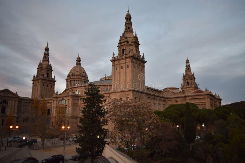 Le ` de Museu Nacional d Art de Catalunya - Barcelone image libre de droits