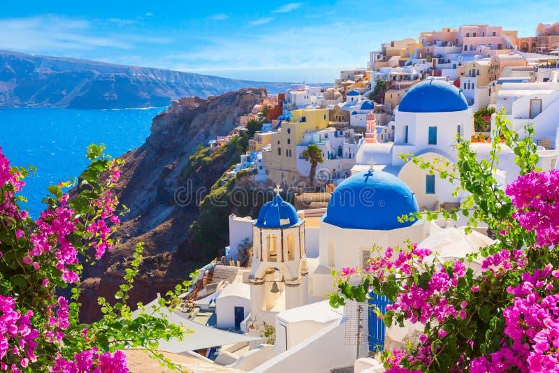?le de Santorini, Gr?ce images libres de droits