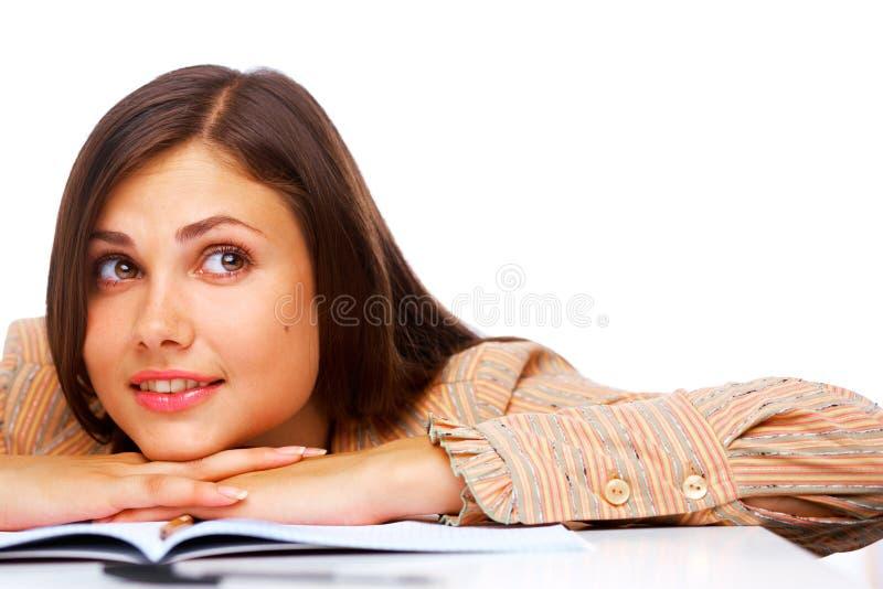 le deltagare för härlig kvinnlig royaltyfri foto