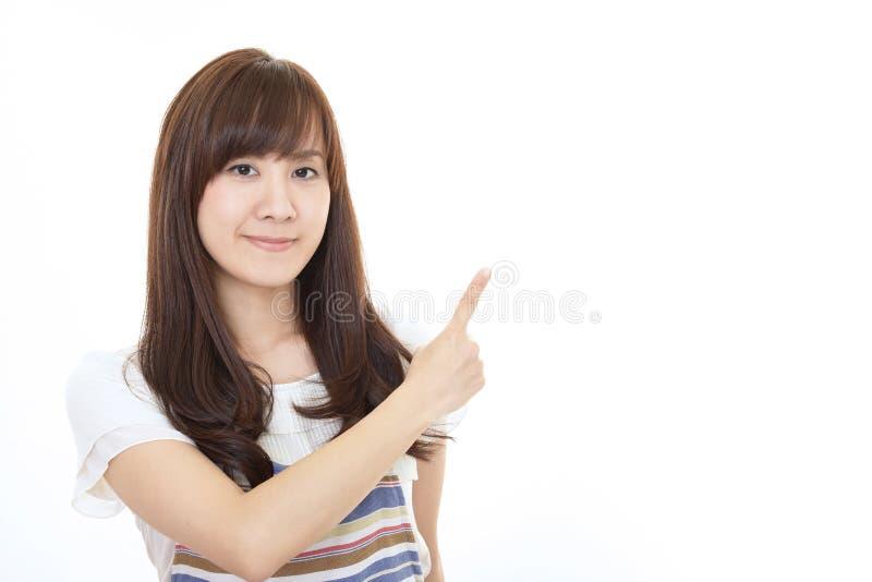Le den asiatiska hemmafrun royaltyfria foton