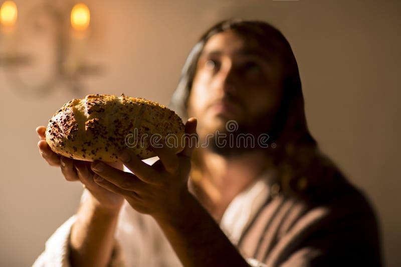 Le dernier dîner de Jesus Christ photo stock