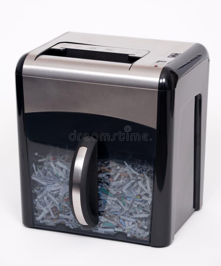 le destructeur de papier photographie stock